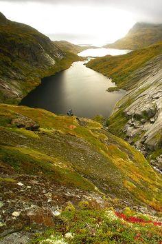 Sooooooo schöne Farben! Reinebringen • Norway