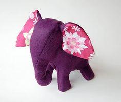 Great stuffed animal elephant pattern