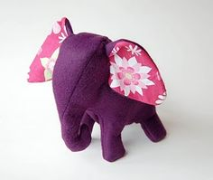 Great stuffed animal elephant pattern