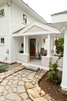 Sarah Steinberg Custom Designs - traditional - porch - portland maine - Steinberg Custom Designs