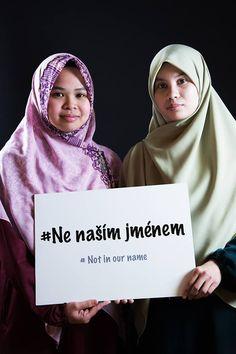 Ne naším jménem/ Not in our name
