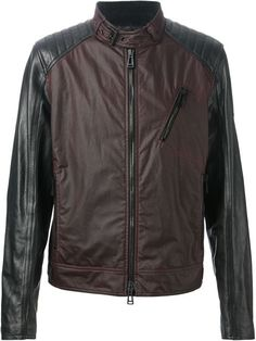 Shop Belstaff biker jacket in Twist'n'Scout from the world's best independent boutiques at farfetch.com. Over 1000 designers from 60 boutiques in one website.