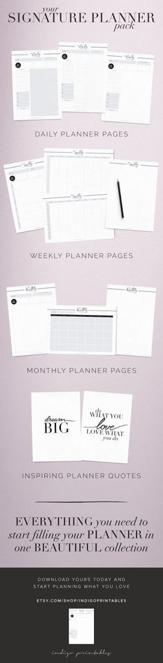 Edited Year Planners, Free Daily Planner Schedule printable - free daily planner download