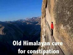 Funny, constipation cure.