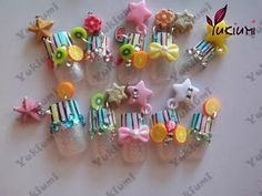 candy nail art design