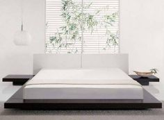 Modern White Bedroom Furniture this is my dream bed !!! gonna have by fall
