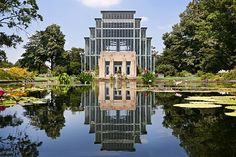 Jewel Box in Forest Park, St. Louis