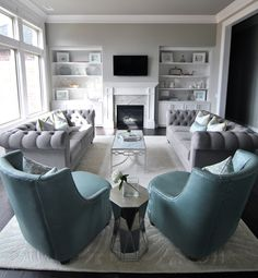 Living Room — Designs by Katie Grace
