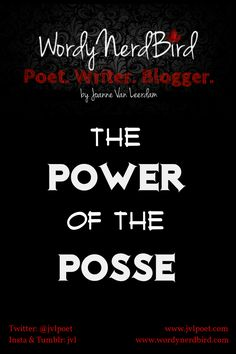 A posse that will always support you and encourage you.  Every author needs one. Here's why.