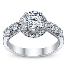Halo Engagement Rings Were Inspired By Romance.