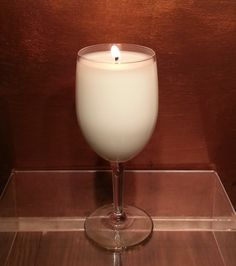 If your sweety loves #Wine then Scented Wine Glass Candles make a great Sweetest Day Gift #Etsy, $8.00 #gifts