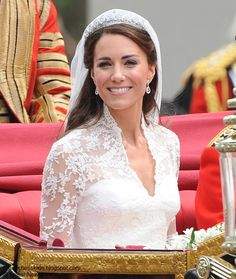 Duchess if Cambridge in her wedding day, April 2011