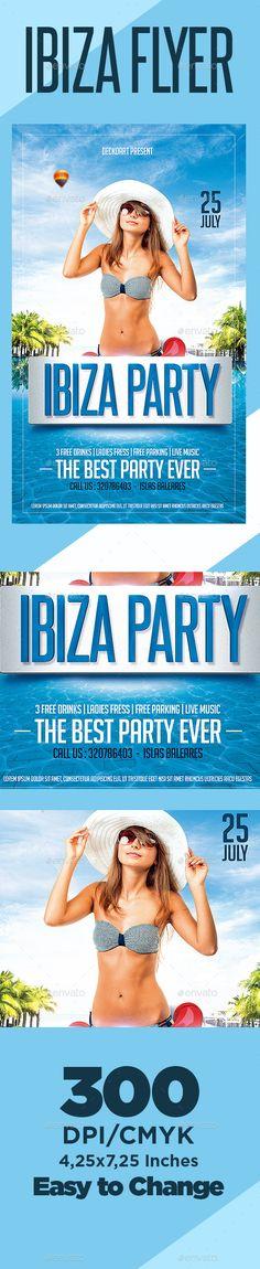 Ibiza Flyer Party