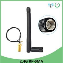 3dBi 2.4GHz WiFi Antenna,SMA Male Pin for WiFi Range Extender Router IP Camera