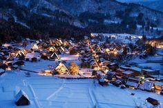 Shirakawa-go is Magnificent Under the Snow