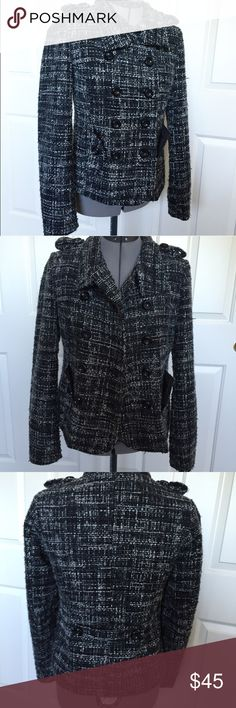 Cozy chic coat Such a cute coat! Size small. Tts. The fabric and look just reminds me of higher end designers. This is a medium warmth coat. Great condition! Jackets & Coats