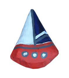 Peacock Art, Sun Art, Sailboat, Illustration, Outdoor Decor, Crafts, Painting, Sailing Boat, Manualidades