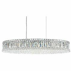@Overstock.com - Crystal Pendant Lamp - Update your home or office with this attractive lighting fixture. This pendant features a gorgeous chrome finish for a timeless look.   http://www.overstock.com/Home-Garden/Crystal-Pendant-Lamp/6739594/product.html?CID=214117 $384.99
