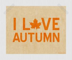 ♥   Don't you just love Autumn?      Aline♥
