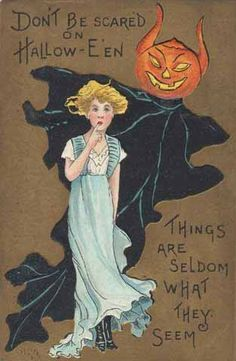 Don't be scared on Halloween... #vintage #Halloween #Edwardian