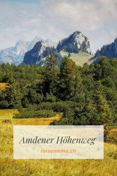 Amden oberhalb vom Walensee ist ein Wanderparadies. Ob Sommer oder Winter; hier findet man immer einen passenden Weg, um ein paar Stunden im Naturparadies zu verbringen. Sehr empfehlenswert ist der Höhenweg. #Amden #Wandern #Wandertipp #Schweiz Switzerland Destinations, Hidden Places, Swiss Alps, Blue Mountain, Trekking, Waterfall, Hiking, Mountains, Travel