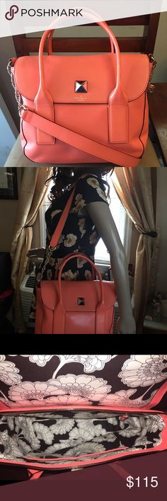 Kate Spade Authentic Kate Spade leather handbag. Great condition inside and outside. kate spade Bags Shoulder Bags