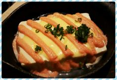 Salmon Roe Tofu