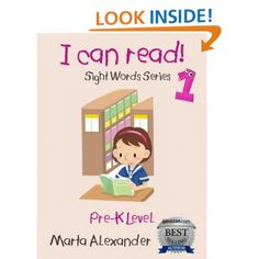 Amazon.com: I Can Read 1: 100 Flashcards (DOLCH SIGHT WORDS SERIES, Part 1) eBook: Marta Alexander: Kindle Store