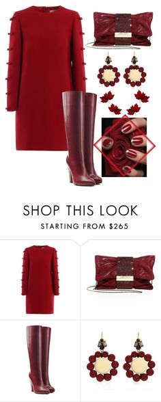 """Untitled #1484"" by sunnydays4everkh ❤ liked on Polyvore featuring Valentino, Jimmy Choo, Sonia Rykiel and Marni"
