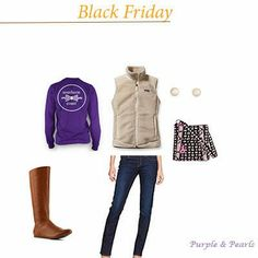 Purple and Pearls : Thanksgiving Break Outfits