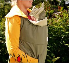 MaM Design - Carrying - MaM Babywearing Cover...wonder if I can recreate
