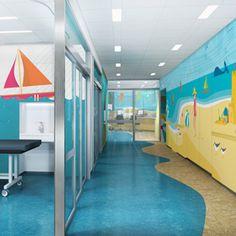 Bam Studio Designed This Beautiful Beach Like Retreat For Patients In The Pediatric Mri Suite