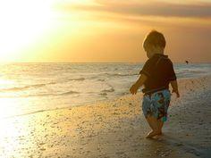 Toddler on the beach #kimberlingray