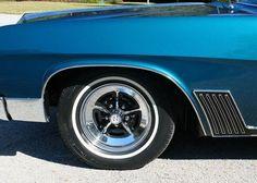 1967 Buick Wildcat wheel/fender detail