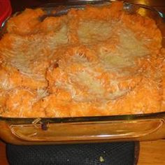 Not a huge fan of sweet potatoes?  Give this savory recipe a try!  We suggest using fresh rosemary and skipping the cheese for a dish that still has phenomenal flavor!  Rosemary Mashed Potatoes and Yams Allrecipes.com