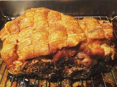  Our country in our Eating Around the World Adventure is Barbados and here I bring to you, one of the easiest roast pork dinners you can make. The crackling is fabulous, the meat tender. Roast Pork Dinner, Pork Roast, Pork Shoulder Recipes, Dinner Ideas, Dinner Recipes, In The Flesh, A Food, Food Processor Recipes, Beef