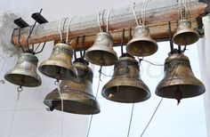 Stock image of 'Old church bells'