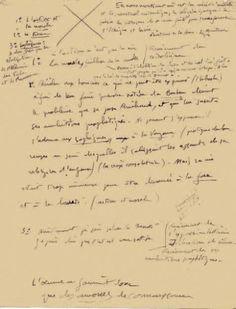 ANDRE ROLLAND DE RENEVILLE Rimbaud le voyant. Manuscrit autographe. 161 feuillets manuscrits 21x27 cm; 296 pages - Kahn-Dumousset - 15/12/2014