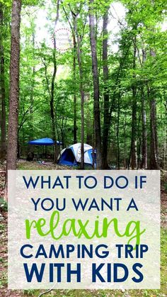 Are you going camping with kids for the first time? It's one of our favorite things to do as a family! Remember these 3 tips if you want to actually have a RELAXING camping experience with kids!! Tips for activities even if you have a toddler with you!