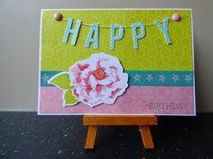 Scrappen en beppen: You brighten my day * Happy birthday * Kruidentaart met courgette * Kwaad-Elisabeth Mollema