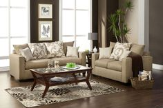 Colebrook Transitional Sofa & Love Seat