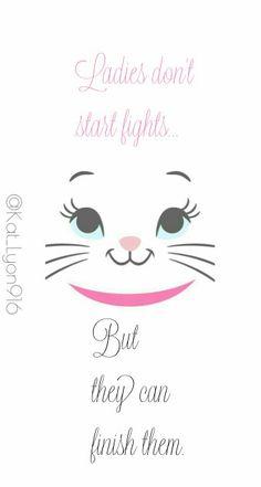 Aristocats - Marie quote Follow me on Instagram for more lockscreens @kat_lyon916 Disney Magic, Disney Art, Disney Movies, Disney Pixar, Wallpaper Stickers, Wallpaper Iphone Disney, Cute Disney, Baby Disney, Marie Cat
