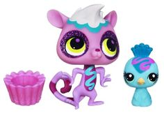 Littlest Pet Shop Sweetest Lemur #3130 and Peacock #3131 Littlest Pet Shop http://www.amazon.com/dp/B00D4854X8/ref=cm_sw_r_pi_dp_Mjryvb14H0T7N