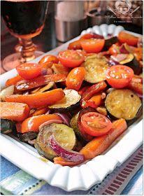 O melhor restaurante do mundo é a nossa Casa: Legumes assados no forno