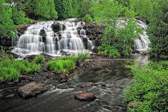 Bond Falls, Michigans Upper peninsula