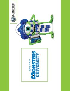 Wall Decoration, Monsters Inc, Party Decorations - Free Printable Ideas from Family Shoppingbag.com