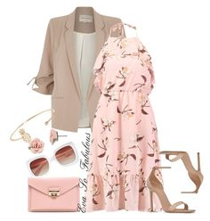 Untitled #49 by ma-ponia on Polyvore featuring polyvore, fashion, style, River Island, Yves Saint Laurent, Humble Chic, 1928, Joanie and clothing
