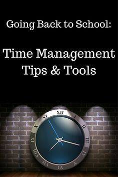 Going back to school requires some time management skills in order to get all of your coursework completed; however going back as an adult has its own unique time management concerns. Here are some tools to help you succeed. Best Study Tips, Going Back To College, Time Management Skills, Study Skills, Staying Organized, Working Moms, New Tricks, College Students, Tools
