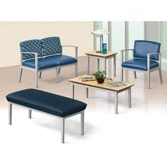 Mason Street Fabric and Polyurethane Guest Chair with Arms // Mason reception chairs