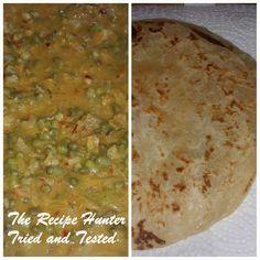 TRH Mung bean curry and roti. Beans Curry, Mung Bean, Yogurt Cups, Garlic Paste, Naan, Coriander, Palak Paneer, Soups And Stews, Homemade